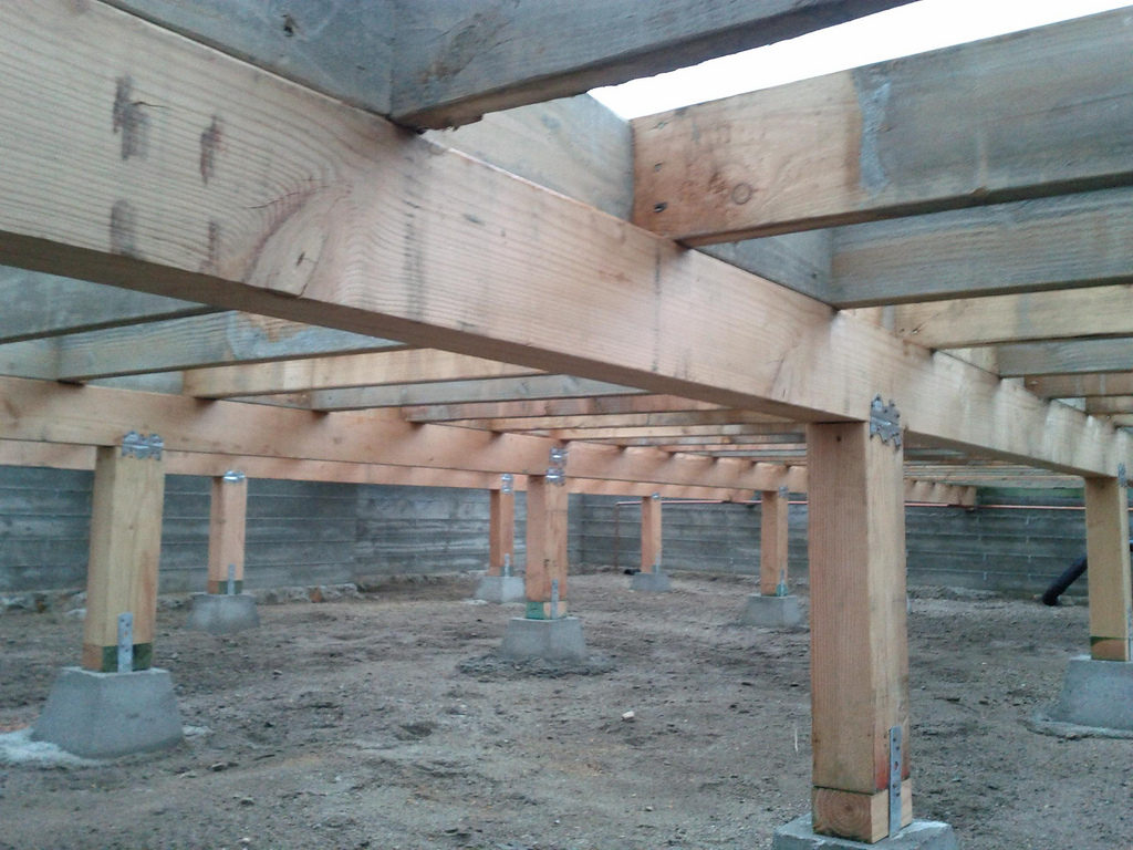 Types of House Foundations Pier and Beam