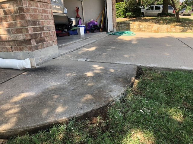 Concrete Leveling AFTER